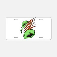 Nation Of Aliens Aluminum License Plate