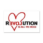 Is All We Need Car Magnet 20 x 12
