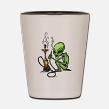 Alien and Water Pipe Shot Glass