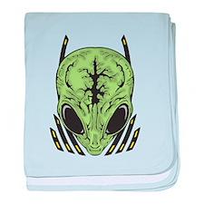 Alien Mental Powers baby blanket
