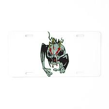 Alien Monster Aluminum License Plate
