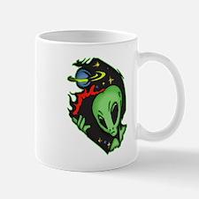 Outer Space Alien Mug