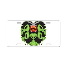 Aliens Probing Your Body Aluminum License Plate