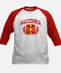 Macedonia Kids Baseball Jersey