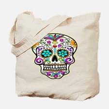Day Of The Dead Skull 3 Tote Bag