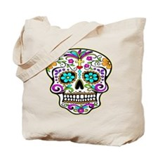 Tattoo Decorated Skull Tote Bag