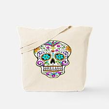 Tattoo Decorated Skull Tote Bag