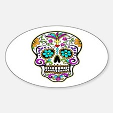 Day Of The Dead Skull 3 Decal