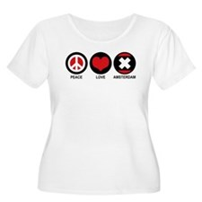 Peace Love Amsterdam T-Shirt
