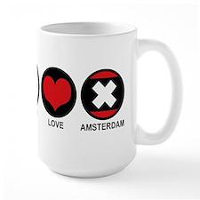 Peace Love Amsterdam Mug