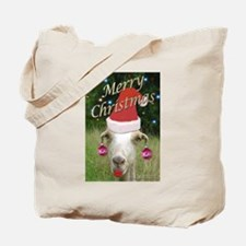 Ruby the Christmas Goat Tote Bag
