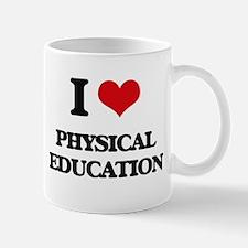 I Love Physical Education Mugs