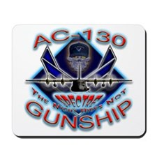 USAF AC-130 Gunship Skull Mousepad