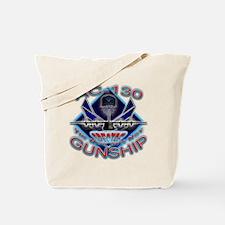 USAF AC-130 Gunship Skull Tote Bag