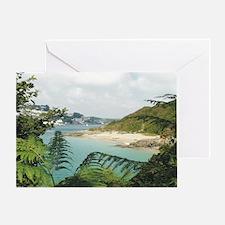 Salcombe Bay Greeting Card
