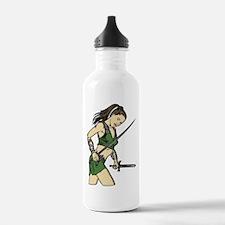 Attacking Amazon Woman Water Bottle