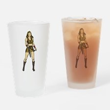 Amazing Amazon Women Drinking Glass