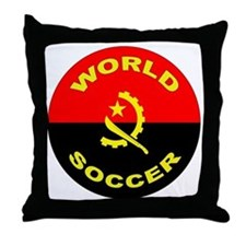 Angola World Cup 2006 Soccer Throw Pillow
