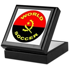 Angola World Cup 2006 Soccer Keepsake Box