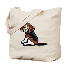 Cute Tri-color Beagle Tote Bag