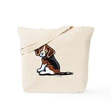 Cute Tri-color Beagle Tote Bag