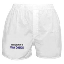 Proud Descendant Of Union Soldiers Boxer Shorts