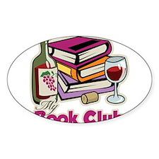 Wine: My Book Club Decal