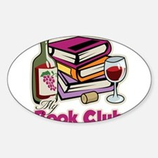 Wine: My Book Club Decal