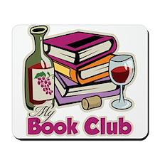 Wine: My Book Club Mousepad