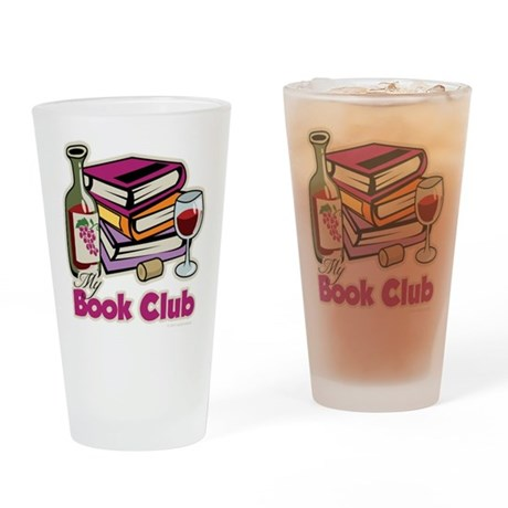 Wine: My Book Club Drinking Glass
