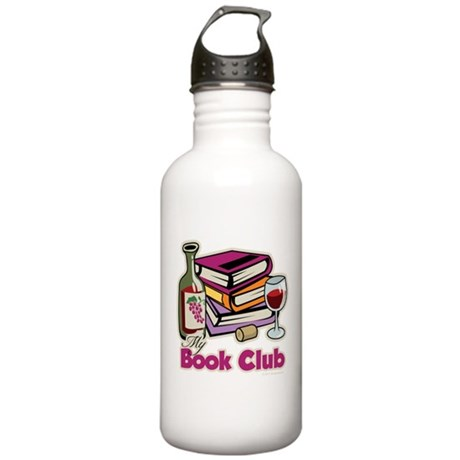 Wine: My Book Club Stainless Water Bottle 1.0L