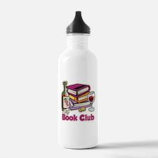 Wine: My Book Club Water Bottle
