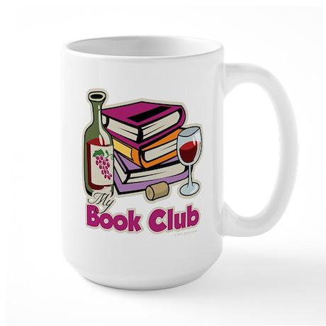 Wine: My Book Club Large Mug