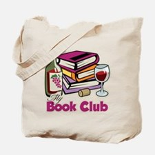 Wine: My Book Club Tote Bag
