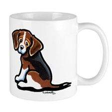 Cute Tri-color Beagle Mug