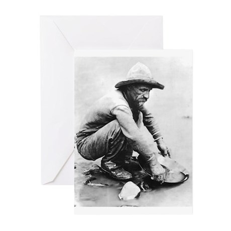 The Old Prospector Greeting Cards (Pk of 10)