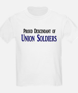 Proud Descendant Of Union Soldiers T-Shirt