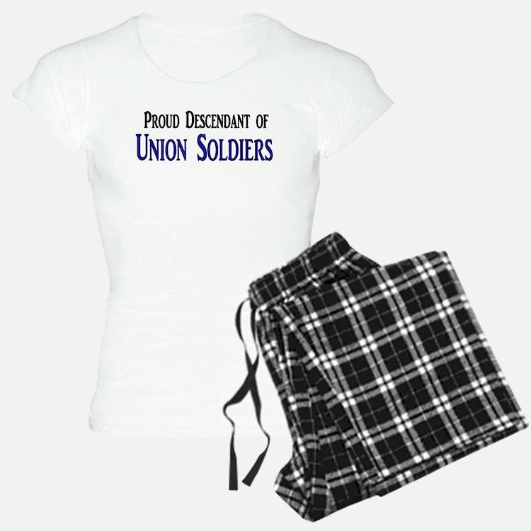 Proud Descendant Of Union Soldiers Pajamas