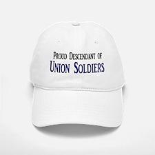 Proud Descendant Of Union Soldiers Baseball Baseball Cap