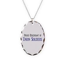 Proud Descendant Of Union Soldiers Necklace