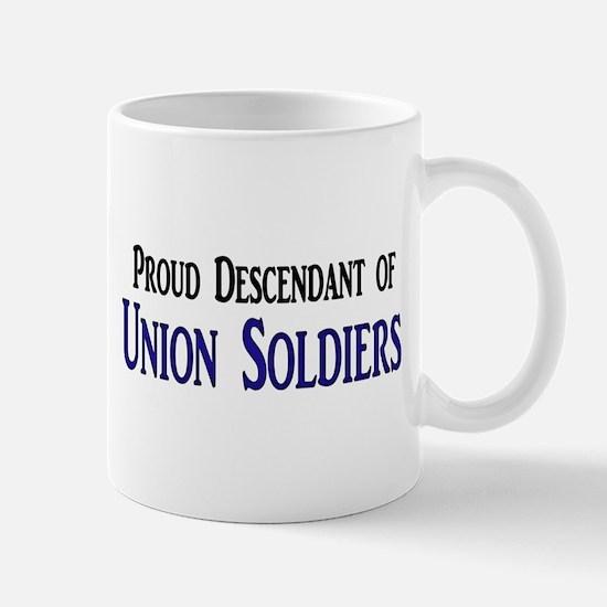 Proud Descendant Of Union Soldiers Mug