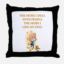 psych patients Throw Pillow