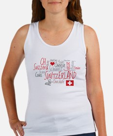 You Have to Love Switzerland Women's Tank Top