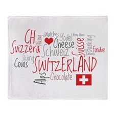 You Have to Love Switzerland Throw Blanket