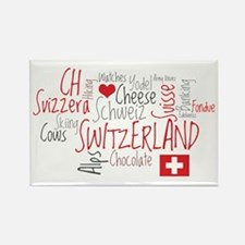 You Have to Love Switzerland Rectangle Magnet