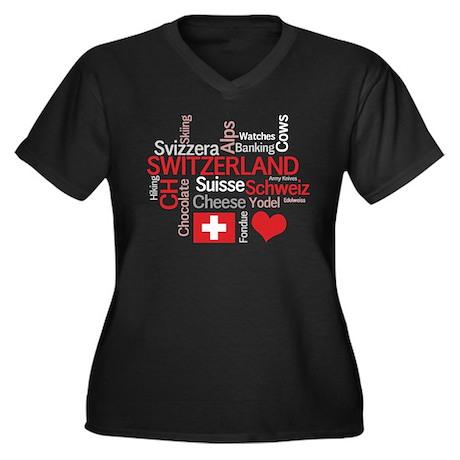 Switzerland - Favorite Swiss Women's Plus Size V-N