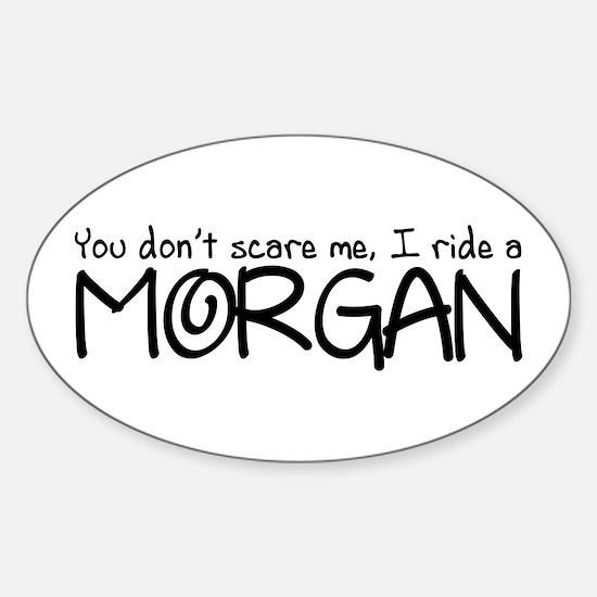 Morgan Sticker (Oval)