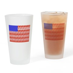 Foal Flag Drinking Glass