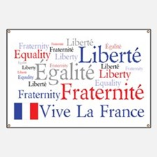 France - Liberty, Equality, F Banner