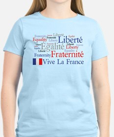 France - Liberty, Equality, F T-Shirt